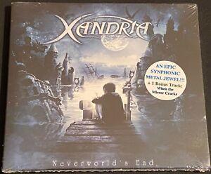 Xandria - Neverworld's End CD + 1 BT (2012, Napalm) New Sealed 13 Track Version