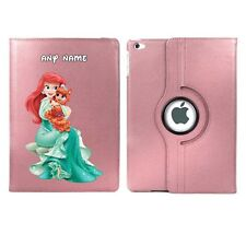 Disney Princess ARIEL Personalised iPad 360 Rotating Case Cover Birthday Gift