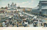 MEXICO CITY - Mercado - Mexico - udb (pre 1908)