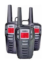 UNIDEN Long Range 30 Mile GMR FRS 22 Channel Two Way Radio Walkie Talkies 3 pack
