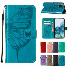 For Samsung S20 FE Note20 Ultra Plus A11 A21S A51 A71 Case Leather Wallet Cover