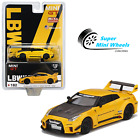 Mini GT 1:64 LB-Silhouette WORKS GT NISSAN 35GT-RR Ver.1 Yellow #182