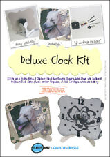 STAMPS AWAY Deluxe Clock Kit *Ali Reeve Create/Craft (ready to assemble)