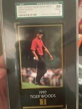 Tiger Woods 1997 Grand Slam Ventures Rookie SGC 88 NM-MT 8