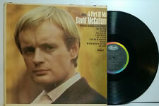 DAVID McCALLUM Music-A Part Of Me '66 Capitol MONO Illya Ducky w photo Axelrod