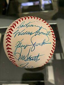1969 Chicago Cubs AUTOGRAPH Baseball - SANTO Beckert JENKINS 14 Sigs 1/1 PSA JSA