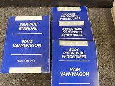 2002 Dodge 2500 Ram Van Wagon Shop Service Repair Manual 3.9L 5.2L 5.9L Cargo