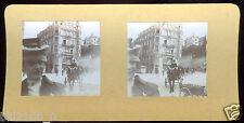 photo stéréoscopique ancienne . Suisse . Zurich . vers 1900