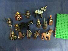 Lego Lord of the Rings LOTR Mini Figs Lot of 11 Figures Gimli Theoden Orc Horses