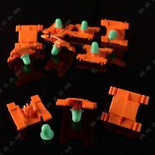 10x Zierleisten Seitenleisten Befestigung Clips Klammer für JETTA MK3 USA GOLF 3