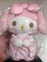 Super Cute Sanrio Pink My Melody Kimono Plush Hello Kitty Japan Exclusive