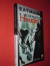 BATMAN- ELSEWORLDS- houdini- DI:ALAN MOORE- EDIZIONI DC LION- nuovo