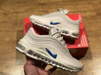 NIKE AIR MAX 97 PRM JUST DO IT WHITE MENS TRAINERS SIZE UK7 EUR41 US8