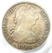 1788-MO FM Mexico Charles III 8 Reales Coin (8R) - Certified ANACS AU55