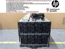 HP C7000 BL460c Gen8 v2 2TB 160 núcleo D2200sb 57TB solución blade de almacenamiento SAS 6G