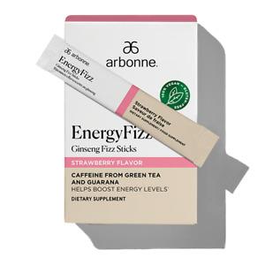 Arbonne EnergyFizz Ginseng Fizz Sticks - Strawberry Flavor