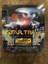 Star Trek Edition SkyBox Master Series Collectible Trading Cards Sealed In Box