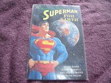 Superman For Earth prestige format comic book