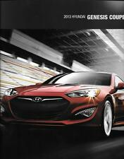 2013 13  Hyundai  Genesis Coupe original  brochure MINT