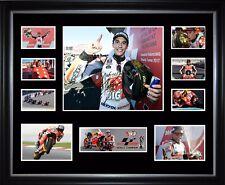 Marc Marquez 2017 Motogp Champion Signed Framed Memorabilia