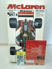 Tamiya 1/12 McLaren Honda MP4/6 SENNA F1 With MFH Book & TABU Design Decals