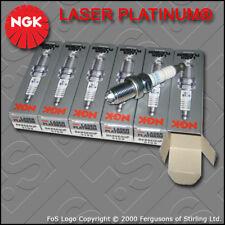 NGK LASER PLATINUM SPARK PLUG SET BKR6EQUP x 6 STOCK NO. 3199 BMW