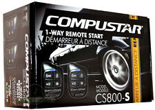 New Compustar CS800-S 1-Way Remote Start Car Auto Starter w/Keyless Entry CS800S