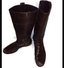 Ralph Lauren Women's Brown Knee High Riding Boots Stara Style Size 10 Fall Shoes