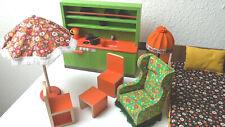 Vintage Konvolut * BODO HENNIG Möbel * ABSOLUT 70er * für Barbie & Co. * SELTEN!