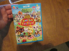 Animal Crossing Amiibo Festival Nintendo Wii U  videogame NEW  FACTORY SEALED