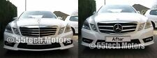 2010~2012 W212 Mercedes NEW E Class E350 E550 Grill grille Black DISTRONIC