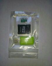 tarjeta de memoria micro sd 64gb+adaptador+suporte usb