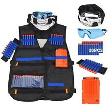 Outdoor Toy Tactical Vest Kit For Nerf Guns N-Strike Elite Series Quick
