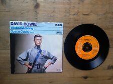 "David Bowie Alabama Song / Space Oddity 7"" Single VG Vinyl Record PB 9510 P/S"