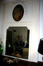 SPECCHIO SPECCHIO a Parete Stucco SPECCHIO MIRROR TRUMEAU Luigi XVI Parigi dipinto immagine