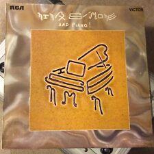 NINA SIMONE-Nina Simone And Piano-UK '70 RCA (SF 8074) Original 1st press LP