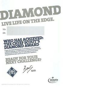 SCOUT TOP AWARD CERTIFICATES 10 PK DIAMOND CHEIF SCOUTS