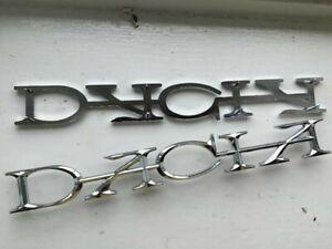 DACIA REAR BADGE Boot Emblem For Dacia 1300 + Relault 12 + Denem