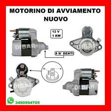 MOTORINO DI AVVIAMENTO TOYOTA AYGO 1.0 GPL 50KW DAL 05 MOTORE 1KR-FE 281000Q012