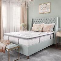 12 Inch Hybrid Cool Gel Memory Foam and Innerspring Mattress Pillow Top Firm