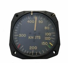 Vintage Aircraft Memorabilia Airspeed Pilot Static 40-400 Knots An5861T2 *