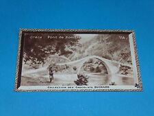 CHROMO PHOTO CHOCOLAT SUCHARD 1934 EUROPE GRECE HELLAS PONT DE KONITZA