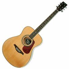 Vintage V300 Acoustic Folk Guitar - Natural