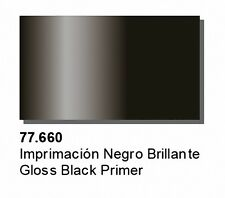 Vallejo BNIB Metal Color-Negro Brillante primer 32ml (1) val77660