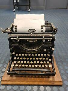 Antique UNDERWOOD  TYPEWRITER NO. 5 circa 1920s RARE WORKS
