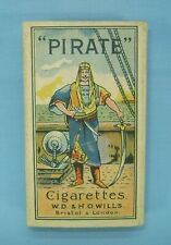 Vintage Pirate Collectible Tobacco Packaging Circa 1940s Untouched
