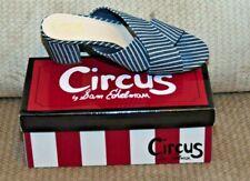 Circus By Sam Edelman Stevie Navy White Slip On Heel Mule Women's Size 10M