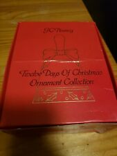 Jc Penney Twelve Days of Christmas Bell Ornament Collection