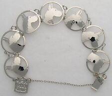 """Great Dane Jewelry """"Silver""""  Bracelet by Touchstone"""