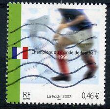TIMBRE FRANCE OBLITERE N° 3484 SPORT FOOTBALL CHAMPIONAT DU MONDE ALLEMAGNE